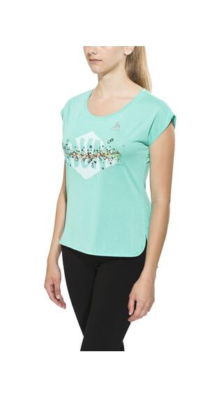 Odlo TEBE - Camiseta Running Mujer - verde